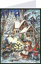 Mini- Adventskalender - Weihnachten im Wald