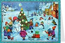 Mini-Adventskalender - Wir bauen einen Schneemann