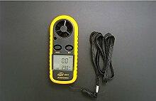 Mini-Anemometer Anemometer Messung der Lufttemperatur-Anemometer Anemometer