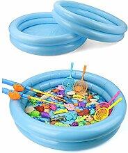 Mini Aufblasbarer Planschbecken Rund Pool