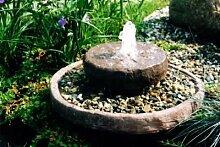 Mini aus Werksandstein inkl. Pumpe Gartenbrunnen Wasserspiel Steinbrunnen Felsbrunnen