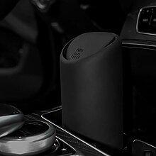 Mini Auto Mülleimer,mit Deckel Silikon Papierkorb