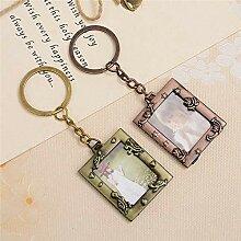Mini-Bilderrahmen-Schlüsselanhänger aus