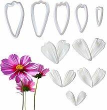 Mini-Chrysanthemen-Form mit Kunststoffausstecher,
