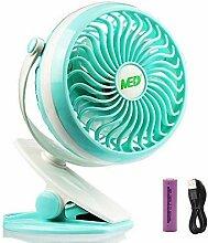 Mini-Clip-Ventilator, batteriebetrieben, kleiner