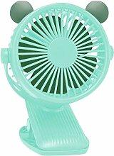 Mini Clip Ventilator mit 90° Auto Rotation 360°