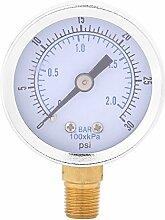 Mini Dial Hydraulische Manometer für Wasser Öl