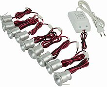 Mini.Einbaustrahler/Einbauleuchte, LED, 1 W, mit