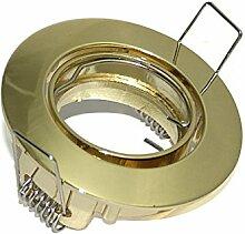 Mini Einbaustrahler Joe Farbe Gold MR11