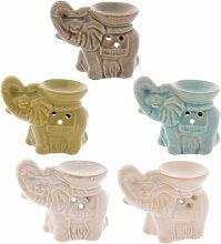 Mini-Elefant/Aromalampe/Duftlampe, Keramik, Geschenke und Karten, Geschenk, Idee Anlässe, Geschenkidee