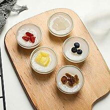Mini-Glasschalen-Set, (5er Set), für Wohnküche,