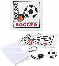Mini-Handtuch, Fußball, Set mit 12 Handtüchern,
