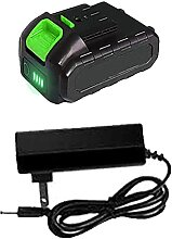 Mini-Kettensäge kabellos mit 2 Batterien 4 Ketten