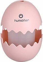 Mini kreative bunte Nachtlicht Spaß Ei Usb Stumm