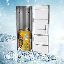 Mini-Kühlschrank, kompakte Mini-USB-Kühl- /