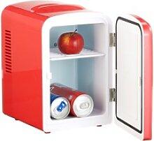Mini-Kühlschrank mit Warmhalte-Funktion, 4 Liter,