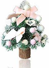 Mini Künstliche Weihnachtsbaum puppenhaus, mini