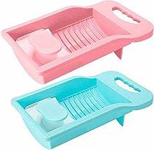 Mini-Kunststoff-Waschbrett, Waschbecken mit
