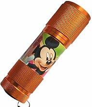 Mini LED-Taschenlampe Mickey Orange