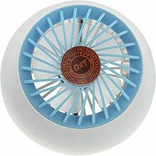 Mini Lüfter Fan 3 Mode Wiederaufladbar Handventilator Mini-USB Ventilator Tischventilator Kabellos Fan Lüfter PC-Kühlsystem