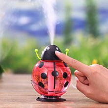 Mini Luftbefeuchter mit LED Licht, USB Cool Mist
