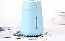 Mini-Luftbefeuchter mit Nachtlicht, tragbar, USB,