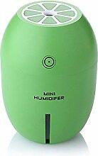 Mini Luftbefeuchter, Zitrone Nacht Licht Luftbefeuchter, Kreatives Haus Schlafzimmer Geschenk, USB Luftbefeuchter , 8*8*11.2cm