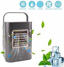 Besorgt Portable Luftkühler Klimageräte Klimaanlage Usb Mobil Luftbefeuchter Ventilator Bürotechnik