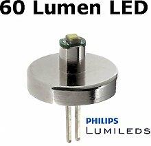 Mini Maglite  AA LED Upgrade Philips Birne 60