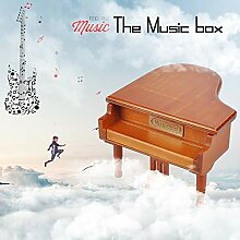 Mini Music Box musicale in legno Creative Box