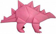 Mini Nachtlicht Lampe Dinosaurier Stegosaurus Origami Rosa für Kinderzimmer–House Of Disaster–leddinpk