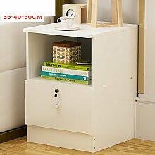 Mini-nachttische,20-25-30-35Cm Schlafzimmer super engen bett schließfächer,Ecke schubladen-T 35x40x50cm(14x16x20inch)