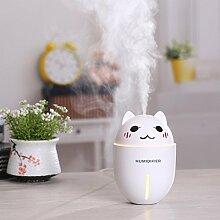 Mini Netter Haustier-USB-Luftbefeuchter Mit Einem