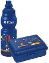 Mini-Pausenset, Trinkflasche & Brotdose Weltraum