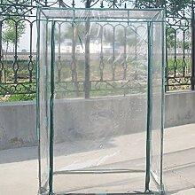 Mini Pflanzen Gewächshaus, XGZ PVC transparent Haushalt Pflanzen, Tomaten Garten Zelt Indoor Outdoor tragbare Lösung für Grow Samen, Setzlinge, Topfpflanzen (nur Bezug, ohne Eisen Ständer)