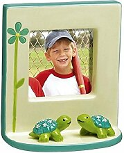 Mini Photo Frame with Turtles, for 2.5 x 2.5 inch
