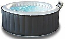 Mini Pool minipiscina Auto aufblasbare Whirlpools Rund 180cm für 4Personen 118Düsen Heizung Full optional