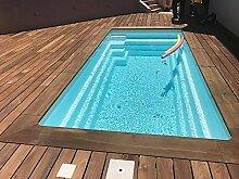 Mini Pool weniger als 10m2aus Polyester Block Filterbeutel 12M3/H (blau)