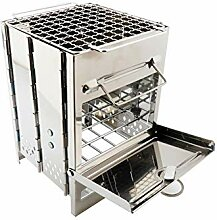 Mini Square Grill tragbare Brennholz Herd-Portable