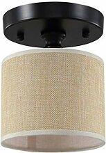 Mini Stoff Deckenleuchte Modern Deckenlampe Flur