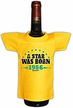 Mini T-Shirt zum Geburtstag - A Star was Born 1956! Die lustige Geschenkidee!
