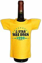 Mini T-Shirt zum Geburtstag - A Star was Born 1998! Die lustige Geschenkidee!