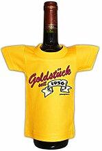 Mini T-Shirt zum Geburtstag - Goldstück seit 1956! Die lustige Geschenkidee!