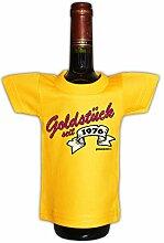 Mini T-Shirt zum Geburtstag - Goldstück seit 1976! Die lustige Geschenkidee!