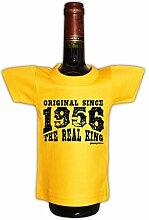 Mini T-Shirt zum Geburtstag - Original Since 1956 The Real King! Die lustige Geschenkidee!