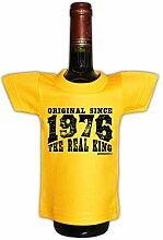 Mini T-Shirt zum Geburtstag - Original Since 1976 The Real King! Die lustige Geschenkidee!