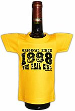 Mini T-Shirt zum Geburtstag - Original Since 1998 The Real King! Die lustige Geschenkidee!