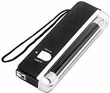 Mini-Taschenlampe, tragbar, UV-Taschenlampe, LED,