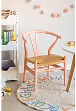 Mini Uish Kinderstuhl aus Holz Pinkes Dahlie Sklum