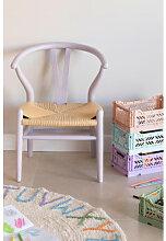 Mini Uish Kinderstuhl aus Holz Violett Lavendel